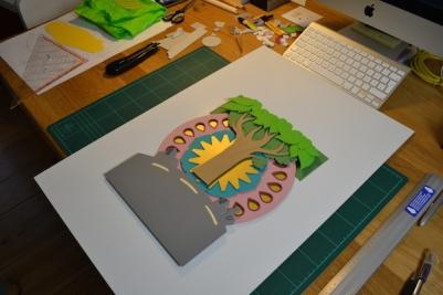 mindart Cover Making of 4