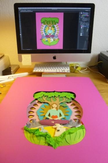 mindart Cover Making of 13