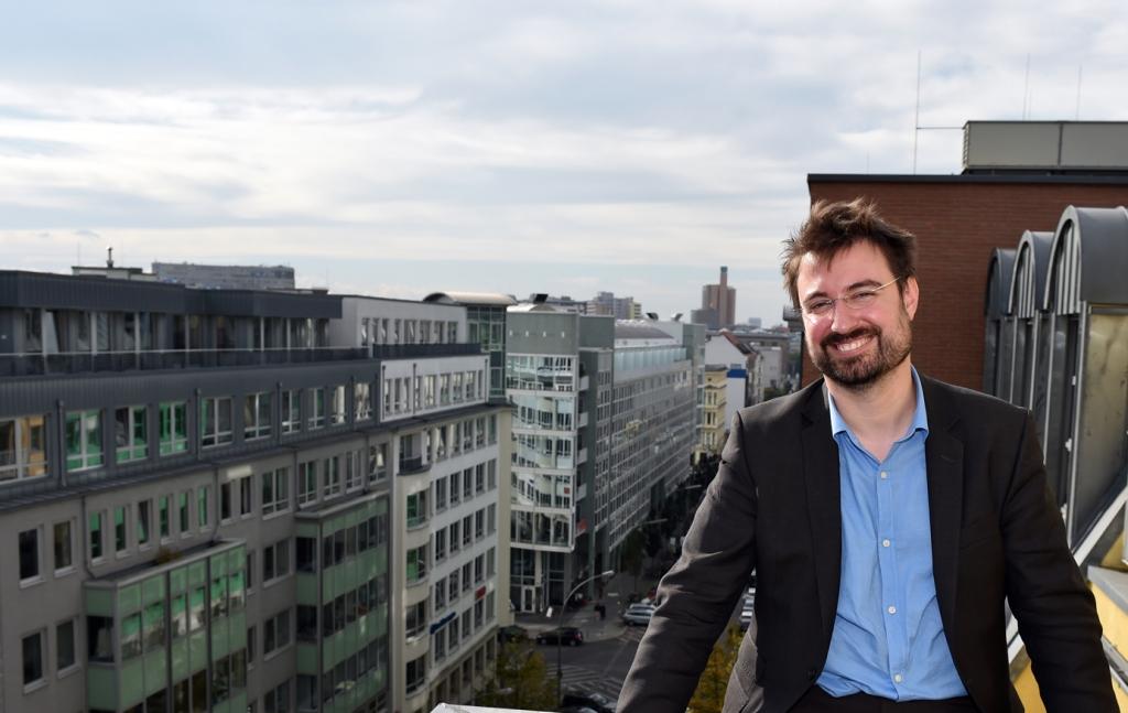 mindart-Chefredakteur Nicolas Flessa